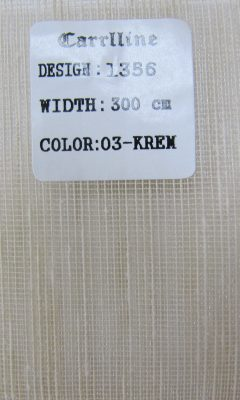 Каталог Design 1356 color 03-krem CARRLLINE (КАРРЛИН)