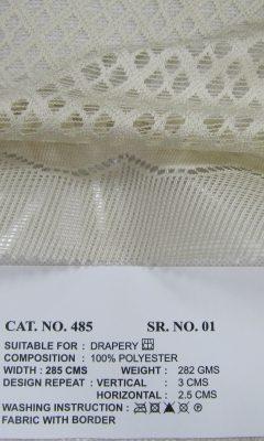 Каталог Cat. No. КОЛЛЕКЦИЯ № 485 colour 1 ULTRA (УЛЬТРА)