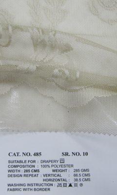 Каталог Cat. No. КОЛЛЕКЦИЯ № 485 colour 10 ULTRA (УЛЬТРА)