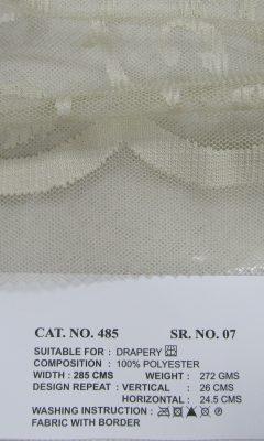Каталог Cat. No. КОЛЛЕКЦИЯ № 485 colour 7 ULTRA (УЛЬТРА)