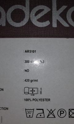 Артикул AR 5101 ADEKO