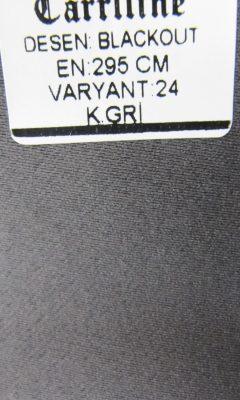 Каталог Design BLACKOUT VARYANT 24 K.GRI CARRLLINE (КАРРЛИН)