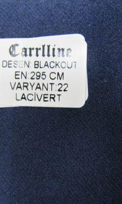 Каталог Design BLACKOUT VARYANT 22 LACIVERT CARRLLINE (КАРРЛИН)