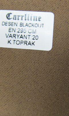 Каталог Design BLACKOUT VARYANT 20 K.TOPRAK CARRLLINE (КАРРЛИН)