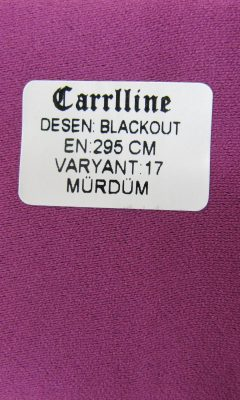 Каталог Design BLACKOUT VARYANT 17 MURDUM CARRLLINE (КАРРЛИН)