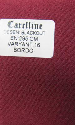 Каталог Design BLACKOUT VARYANT 16 BORDO CARRLLINE (КАРРЛИН)