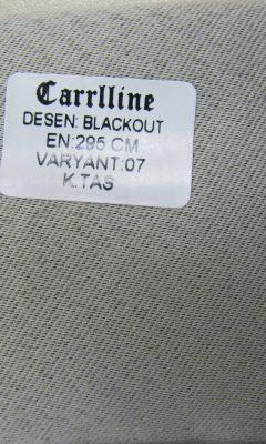 Каталог Design BLACKOUT VARYANT 07 K.TAS CARRLLINE (КАРРЛИН)