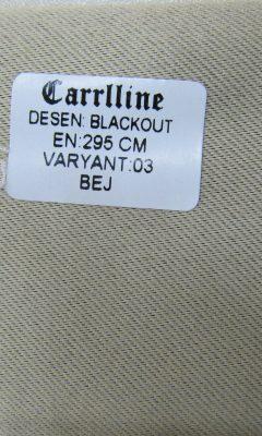 Каталог Design BLACKOUT VARYANT 03 BEJ CARRLLINE (КАРРЛИН)