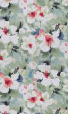 350 «Flower art» / 19 Lotus Primavera ткань