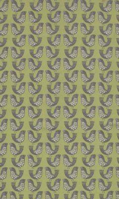 349 «Fantasy time» / 31 Scandi Birds Kiwi ткань