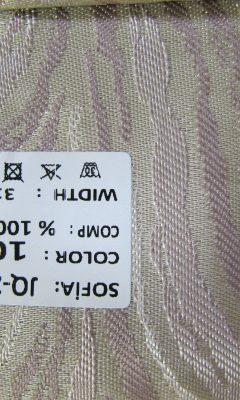 ТКАНЬ Desing JQ-22009 Color: 109 SOFIA (СОФИЯ)