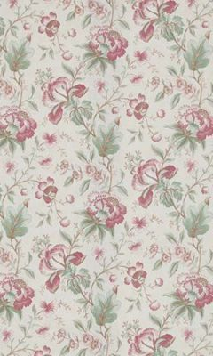 350 «Flower art» / 9 Country Manor Ruby ткань
