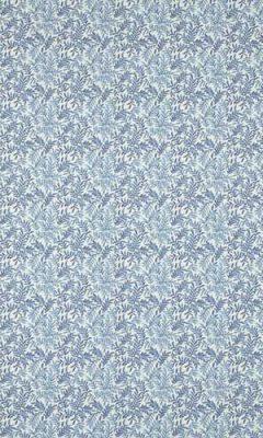 350 «Flower art» / 14 Leaf Vine Indigo ткань