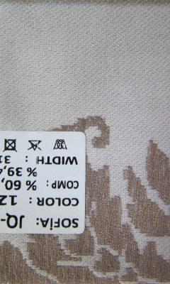 ТКАНЬ Desing JQ-21557 color: 1204 SOFIA (СОФИЯ)