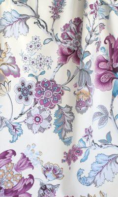 Каталог тканей для штор Siesta артикул ANANDA SATEN Цвет: lila WIN DECO (ВИН ДЕКО)
