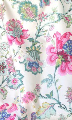 Каталог тканей для штор Siesta артикул ANANDA SATEN Цвет: rosa WIN DECO (ВИН ДЕКО)