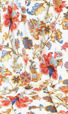 Каталог тканей для штор Siesta артикул ANANDA SATEN Цвет: naranja WIN DECO (ВИН ДЕКО)