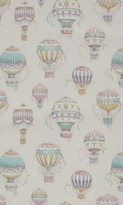 349 «Fantasy time» / 2 Balloons Aqua ткань