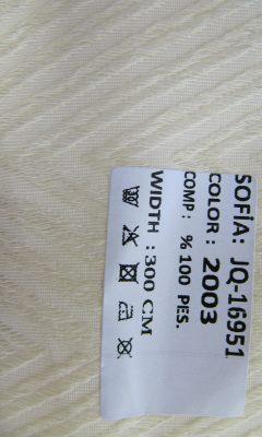 ТКАНЬ Desing JQ-16951 Color: 2003 SOFIA (СОФИЯ)