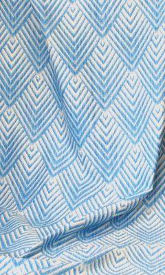 Каталог тканей для штор Siesta артикул MINERVA GEOMETRICO SATEN Цвет: azul WIN DECO (ВИН ДЕКО)