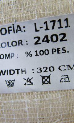ТКАНЬ Desing L-1711 Color: 2402 SOFIA (СОФИЯ)