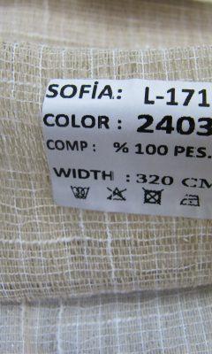 ТКАНЬ Desing L-1711 Color: 2403 SOFIA (СОФИЯ)