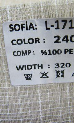 ТКАНЬ Desing L-1711 Color: 2405 SOFIA (СОФИЯ)