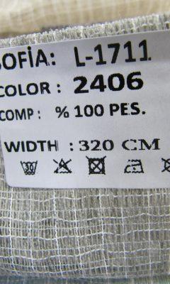 ТКАНЬ Desing L-1711 Color: 2406 SOFIA (СОФИЯ)