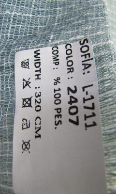ТКАНЬ Desing L-1711 Color: 2407 SOFIA (СОФИЯ)