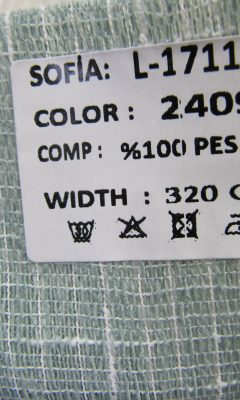 ТКАНЬ Desing L-1711 Color: 2409 SOFIA (СОФИЯ)