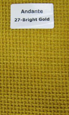 ТКАНЬ Andante Color: 27-Bright Gold ANKA (АНКА)