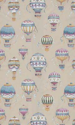 349 «Fantasy time» / 3 Balloons Cobalt ткань
