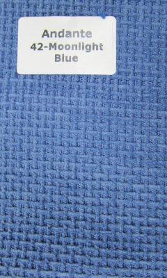 ТКАНЬ Andante Color: 42-Moonlight Blue ANKA (АНКА)