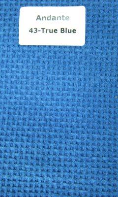 ТКАНЬ Andante Color: 43-True Blue ANKA (АНКА)