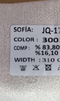 ТКАНЬ Desing JQ-17384 Color 3003 SOFIA (СОФИЯ)
