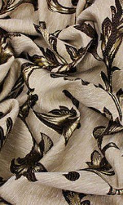 14264 Портьера-имитация шерсть с растит.рисунком (Часть 1) TD collection
