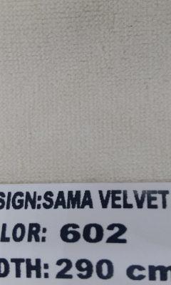 Каталог  SAMA VELVET  Цвет 602  SAMA (САМА)