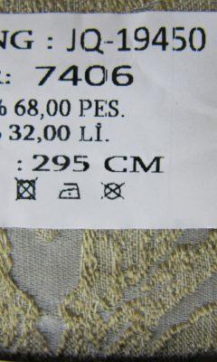 Коллекция ТКАНЬ Desing JQ-19450 SOFIA (СОФИЯ) COLOR 7406