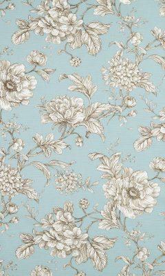 350 «Flower art» / 5 Aquitaine Eau de nil ткань