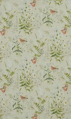 350 «Flower art» / 10 Forever spring Coral ткань