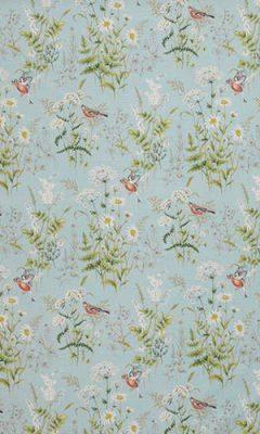 350 «Flower art» / 11 Forever spring Eau de nil ткань