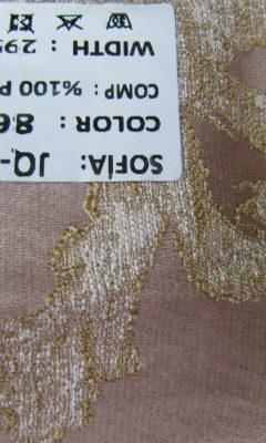 ТКАНЬ Desing JQ-19564 Color: 8642 SOFIA (СОФИЯ)