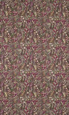 350 «Flower art» / 12 Kelmscott Claret ткань