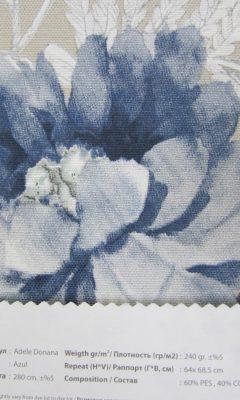 Design ACERTADO Collection Colour: Azul Vip Decor/Cosset Article: Adele Donana