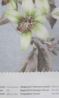 Design ACERTADO Collection Colour: Gris Vip Decor/Cosset Article: Fiona Donana