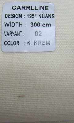 Каталог Design 1951 NUANS VARYANT 02 COLOR K.Krem CARRLLINE (КАРРЛИН)