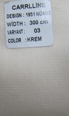 Каталог Design 1951 NUANS VARYANT 03 COLOR Krem  CARRLLINE (КАРРЛИН)