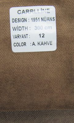 Каталог Design 1951 NUANS VARYANT 12 COLOR A.Kahve CARRLLINE (КАРРЛИН)
