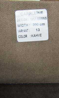 Каталог Design 1951 NUANS VARYANT 13 COLOR Kahve CARRLLINE (КАРРЛИН)