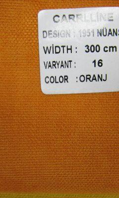 Каталог Design 1951 NUANS VARYANT 16 COLOR Oranj CARRLLINE (КАРРЛИН)